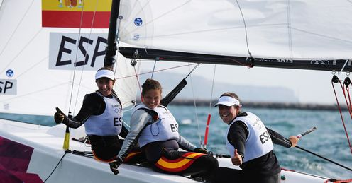 Sailing gold for Spain