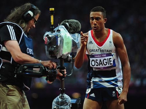 Andrew Osagie: Reached Olympic 800m final