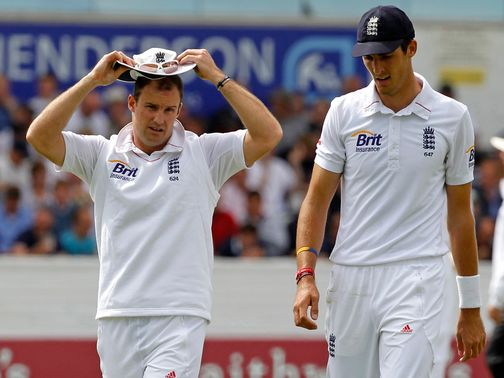 Steven Finn (r): Sad to see Strauss go
