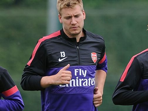 Nicklas Bendtner: Leaves Arsenal on loan