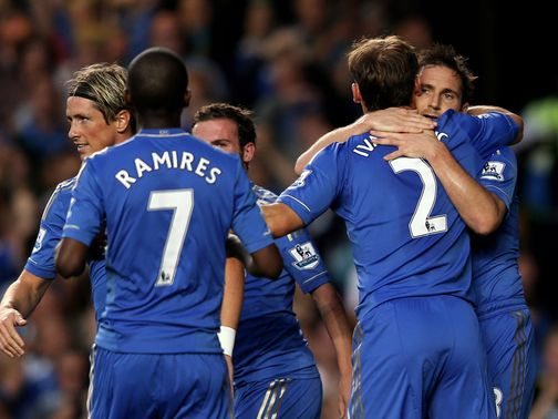 Chelsea fought back to win 4-2 at Stamford Bridge