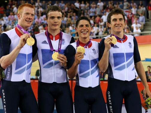 Team GB: Gold in world record time