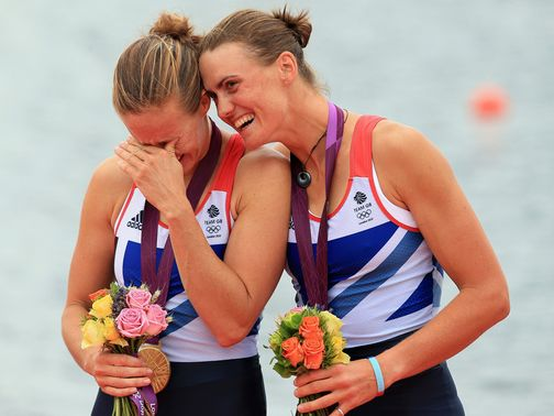 Olympic glory for Glover and Stanning