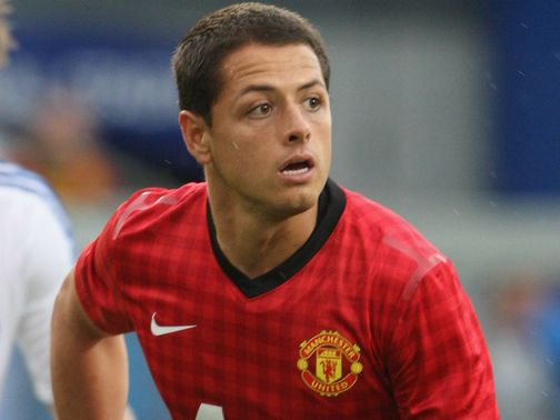 Javier Hernandez: Happy at Manchester United