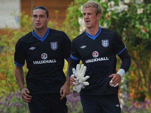 Joe Hart (r): Working on his game every day