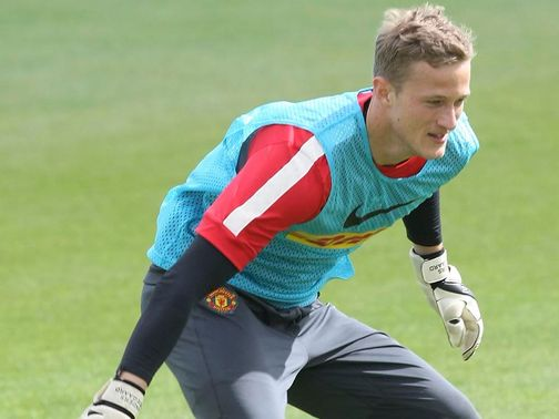 Anders Lindegaard: Happy to share position with De Gea