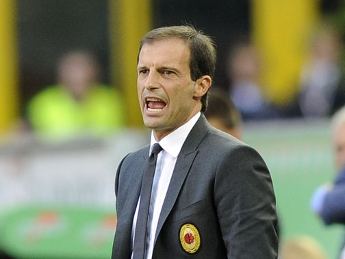Massimiliano Allegri: Gets backing