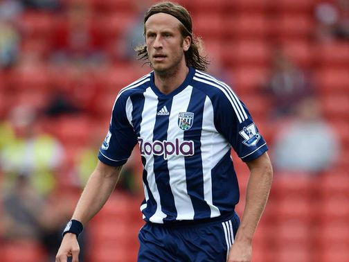 Jonas Olsson: Linked with a summer exit from West Brom