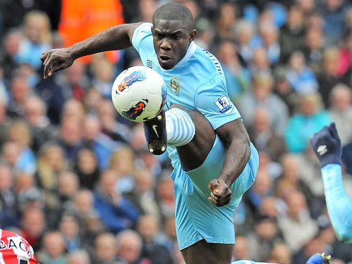 Micah Richards: Looking forward to returning to action
