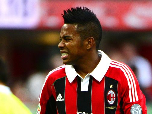 Robinho: Linked with move to Santos