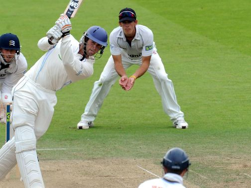 Whitely: In good form for Derbyshire