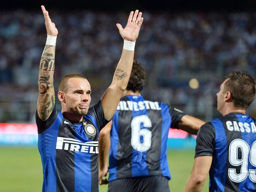 Wesley Sneijder: Left out by Inter Milan