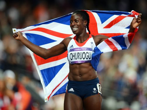 Christine Ohuruogu receives a warm reception from her home crowd