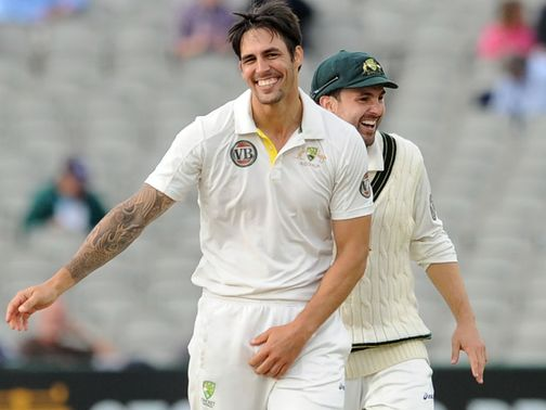 Mitchell Johnson: Back for Australia