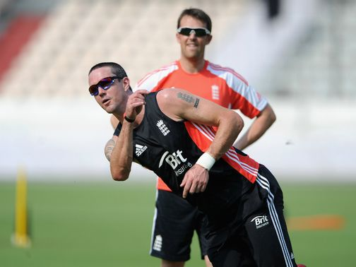 Pietersen (l) and Swann are back in the same squad