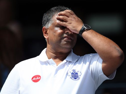 Tony Fernandes: Pledged to turn things around