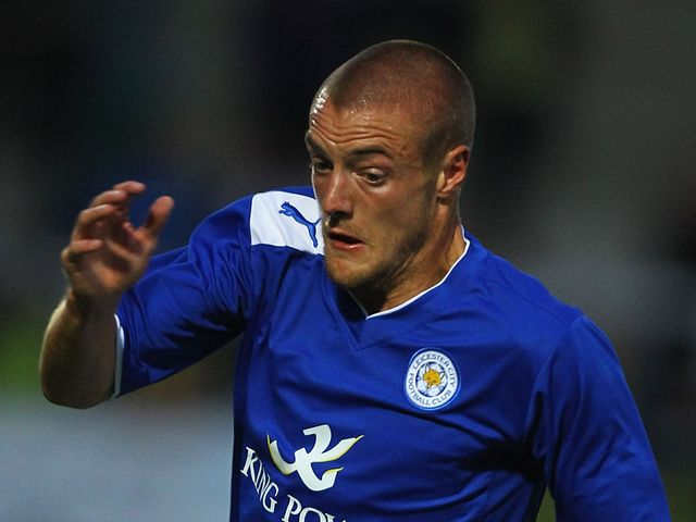 Jamie Vardy: Dramatic late equaliser for Leicester