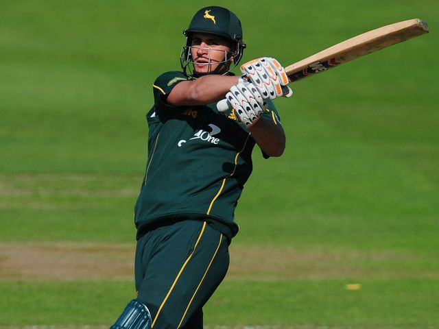 Alex Hales: Made 72 from 41 balls for Notts