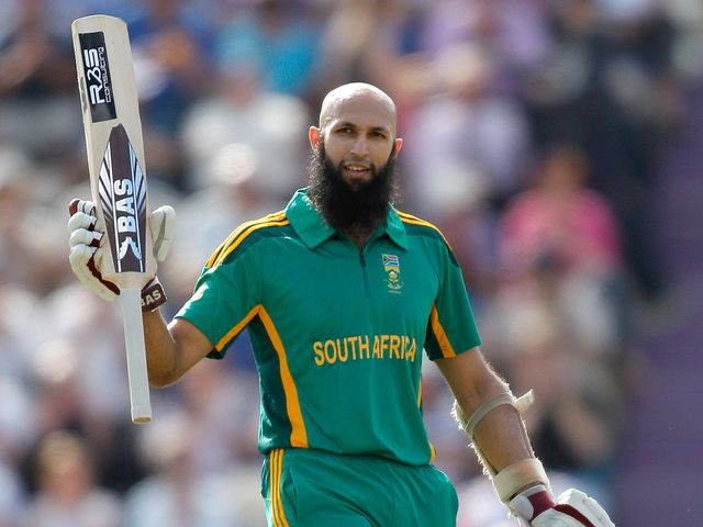 Hashim Amla  hit a superb 150