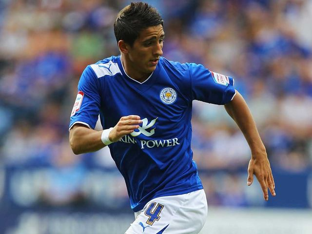 Anthony Knockaert scored twice for a rampant Leicester