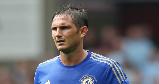 Frank Lampard: Entering the final year of his contract at Stamford Bridge