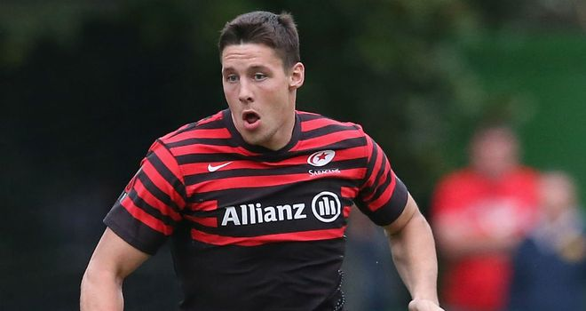 Joel Tomkins has been called up because of an injury to Jonathan Joseph.