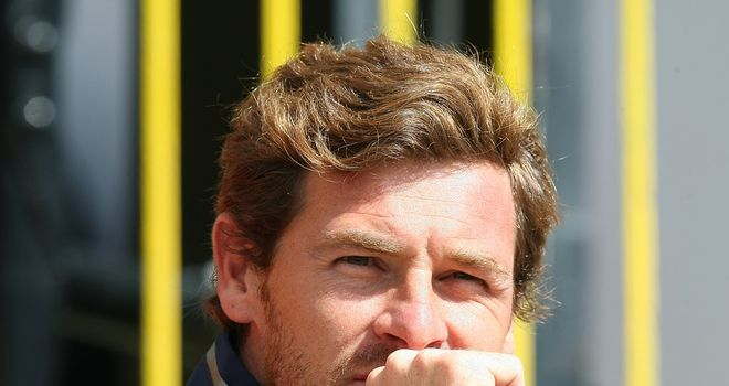Andre Villas-Boas: Has put striker search on hold