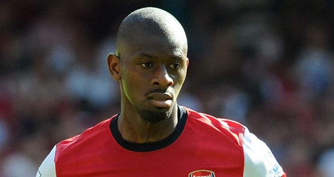 Abou Diaby: Injured early on against Chelsea