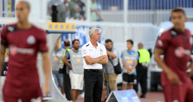 Alan Pardew: The Newcastle manager thought pre-season training served his squad well in Greece