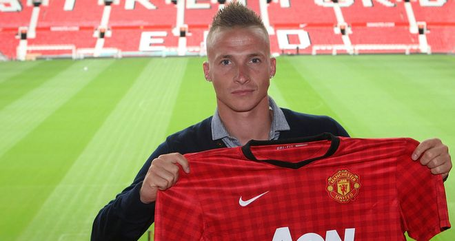 Alex Buttner: Backed by Ferguson to challenge Evra for left-back spot