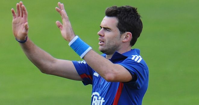 Jimmy Anderson: Has signed a new two-year deal with Lancashire