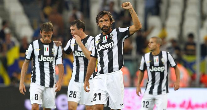 Andrea Pirlo: Scored the second goal in Juventus' 2-0 home win over Parma