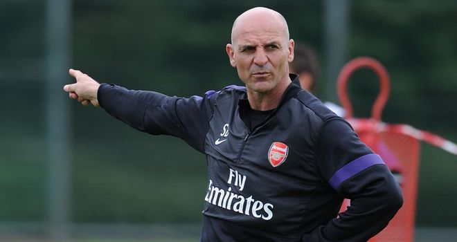 Steve Bould: Earning praise for his impact at the Emirates Stadium