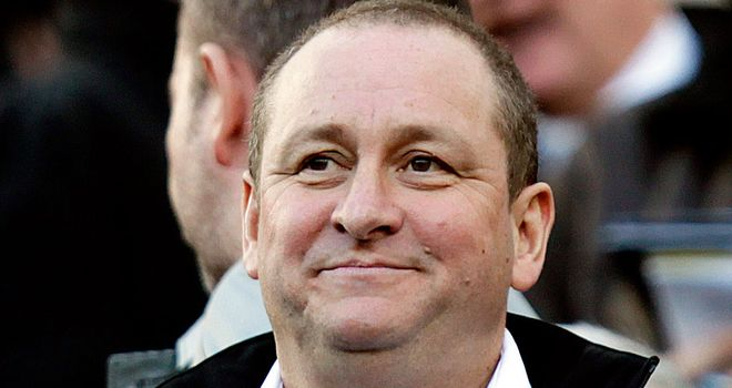 Mike Ashley: Considering buying stake in Rangers
