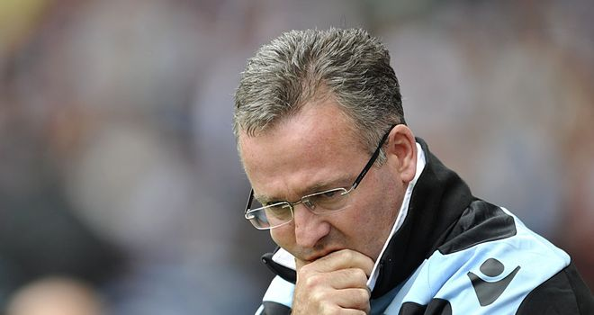 Paul Lambert: Has the backing of fellow Scotsman David Moyes after the Everton chief urged Villa to be patient with their new manager