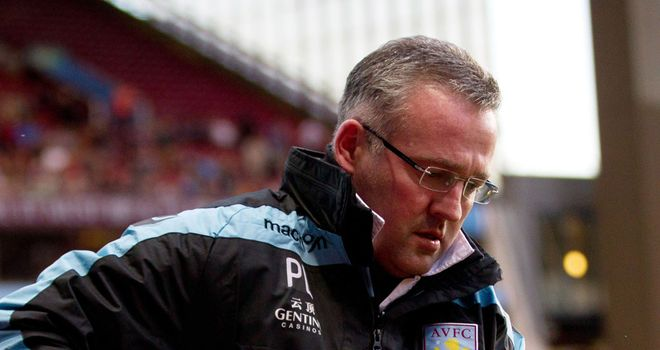 Paul Lambert: Aston Villa manager dropped Shay Given for the 1-1 draw at Newcastle