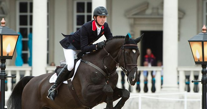 Ben Maher made an excellent start on board Tripple X III