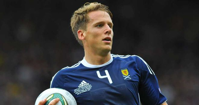 Christophe Berra: Set to link-up with Scotland