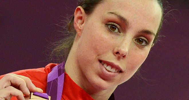 Beth Tweddle: Has ended long wait to win an Olympic medal