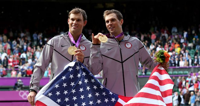 Bob and Mike Bryan: Golden Slam of all four majors and an Olympic title