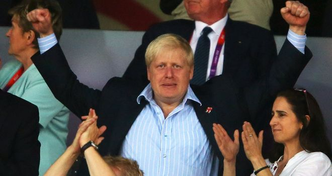 Boris Johnson: Says London legacy well underway