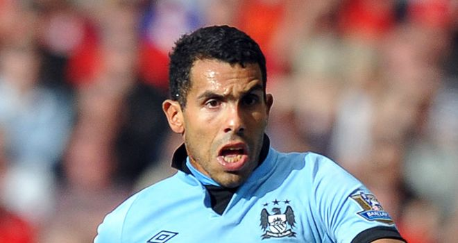 Carlos Tevez: Manchester City striker is back on good terms with Roberto Mancini