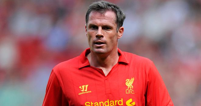 Jamie Carragher: Has a big role to play in helping the young players at Anfield