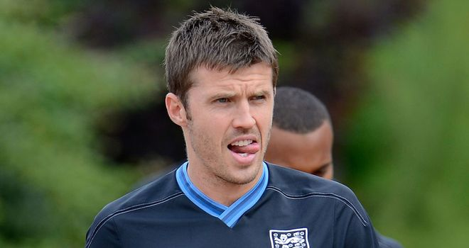 Michael Carrick: Hoping to be involved in England's World Cup qualifying campaign