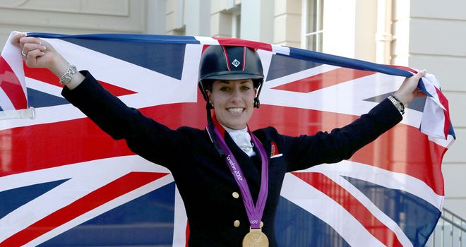 Charlotte Dujardin: Has praised Natasha Baker after her golden performances