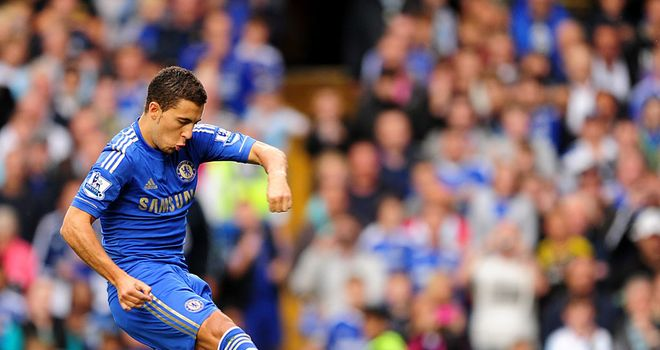 Eden Hazard: Continued his bright start to life at Chelsea with an impressive display