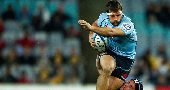 Chris Alcock: Has joined Western Force