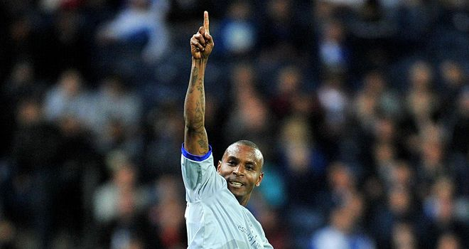 Clinton Morrison: Found the back of the net