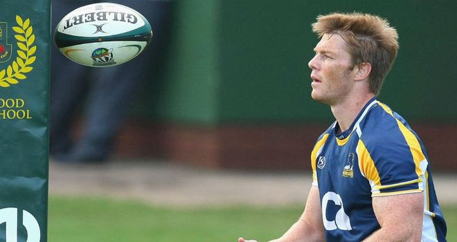 Clyde Rathbone: Has been training with the Brumbies