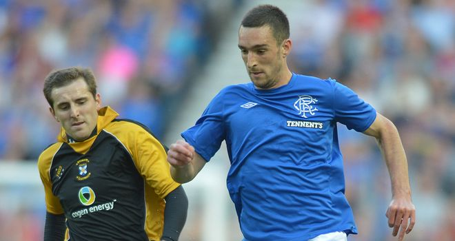 Wallace: On target at Ibrox